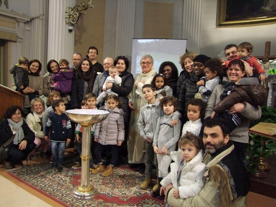 Bambini battezzati della parrocchia