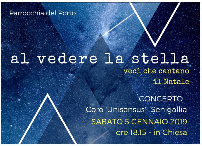 concerto unisensus 5 gennaio 2018