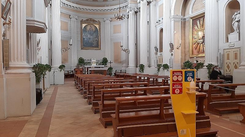 chiesa covid 19 - 1